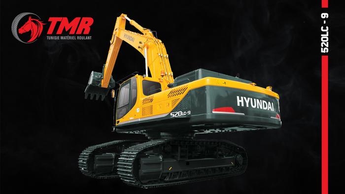 HYUNDAI ROBEX 520LC – 9S