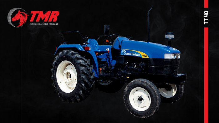 TRACTEUR AGRICOLE NEW HOLLAND TT40