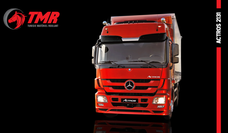 CAMION MERCEDES 20T ACTROS 2131 – 4X2