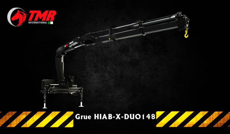 GRUE HIAB DE MANUTENTION X-DUO 148 B-2