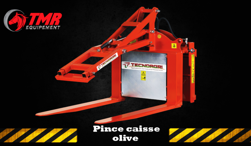 PINCE CAISSE OLIVE