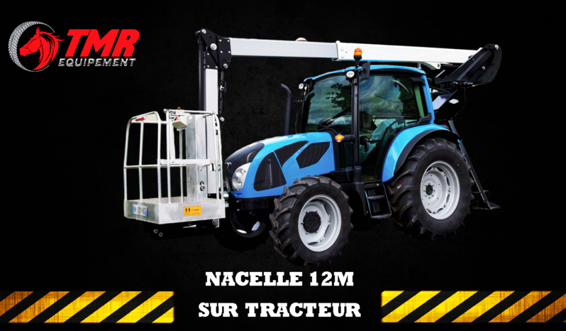 NACELLE SUR TRACTEUR AGRICOLE SOCAGE 12M